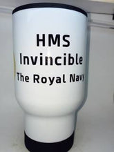 HMS Invincible Coffee Mug or Travel Mug. - Krazy Gifts