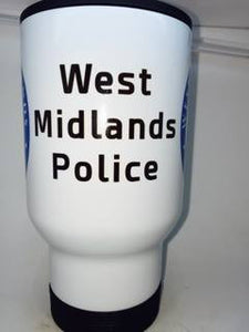 The West Midlands Police Coffee/Travel mug. - Krazy Gifts