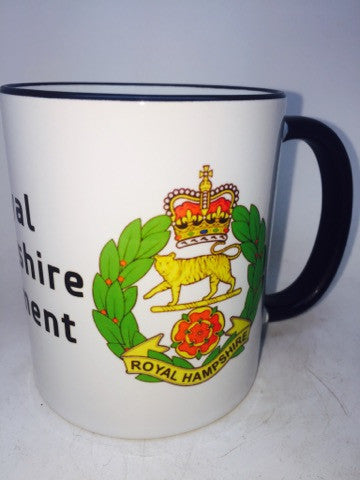 The Royal Hampshire Regiment Travel/Coffee Mug - Krazy Gifts