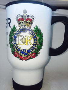 The Corps of Royal Engineers Travel/Coffee Mug - Krazy Gifts