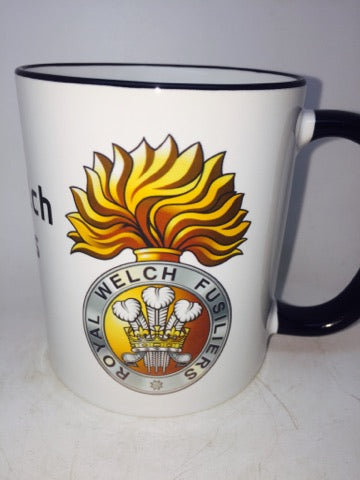 Royal Welch Fusiliers Travel/Coffee Mug - Krazy Gifts