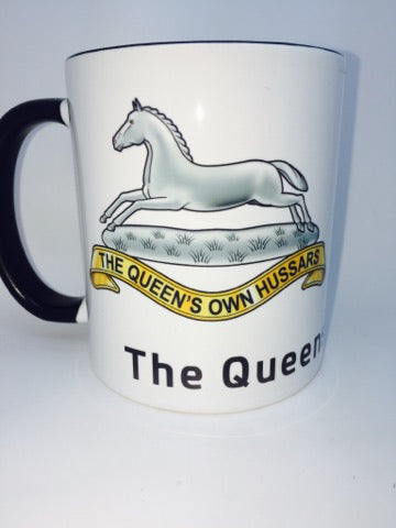 Queens Own Hussars  Coffee/Travel Mug - Krazy Gifts