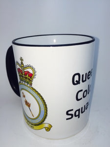 RAFs Queens Colour Squadron Travel/Coffee Mug - Krazy Gifts