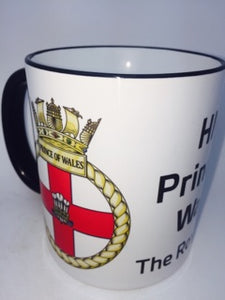 HMS The Prince of Wales Coffee/Travel Mug - Krazy Gifts