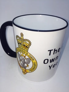 The Queens Own Mercian Yeomanry Coffee/Travel Mug - Krazy Gifts