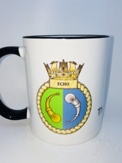 HMS Echo Coffee/Travel Mug - Krazy Gifts