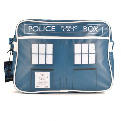 Doctor Who Retro Bag- Tardis