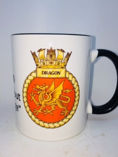 HMS Dragon Coffee/Travel Mug - Krazy Gifts