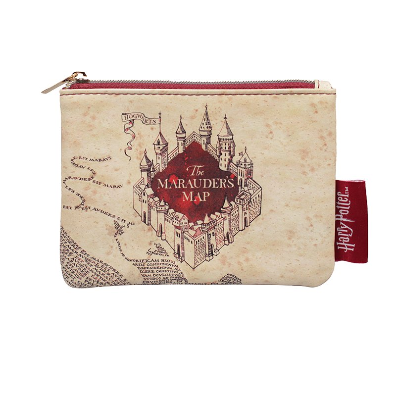 PURSE SMALL - HARRY POTTER (MARAUDERS MAP)
