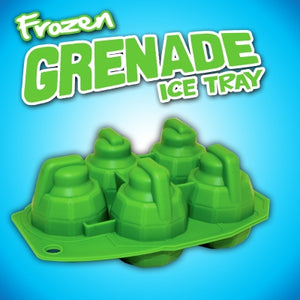 Frozen Grenade Ice Cube Tray - Krazy Gifts