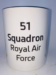 51 Squadron RAF Coffee/Travel Mugs - Krazy Gifts