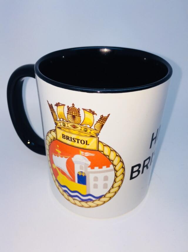 HMS Bristol Coffee/Travel Mug
