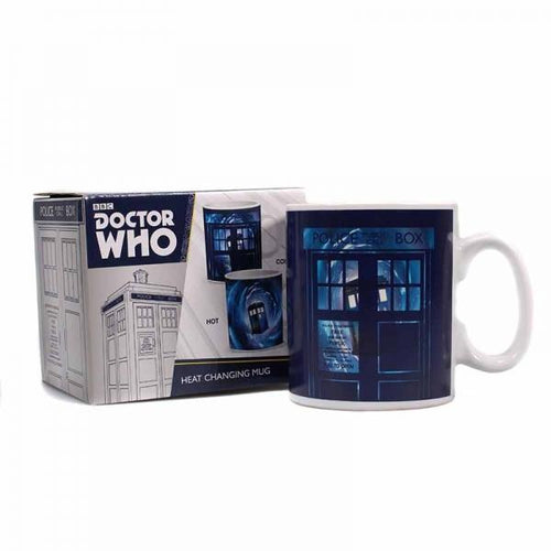 Doctor Who Heat Changing Mug-Time Lord