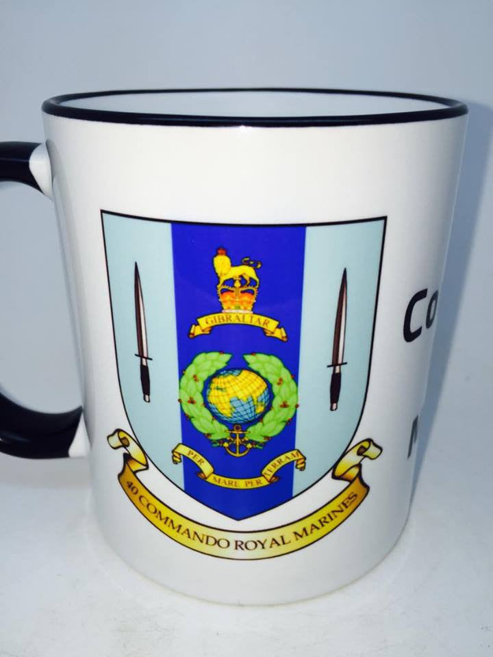 40 Commando Royal Marines Coffee/Travel Mug - Krazy Gifts