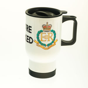 Royal Military Police (You're Nicked) Coffee/Travel Mug - Krazy Gifts