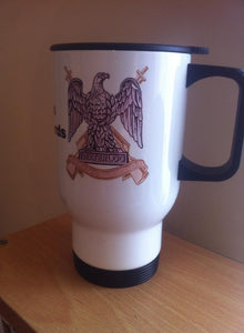 Royal Scots Dragoon Guards Travel/Coffee Mug - Krazy Gifts