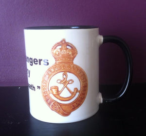 Sherwood Rangers Yeomanry Coffee/Travel Mug - Krazy Gifts
