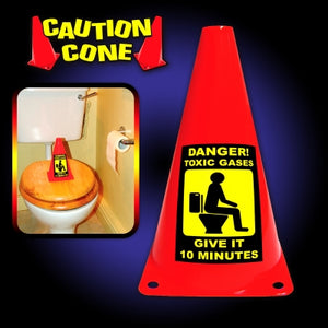 Caution Cone - Toxic Gases