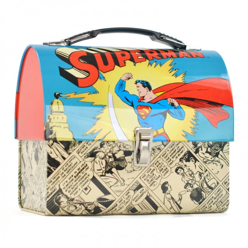 Superman Domed Tin Tote-Superman