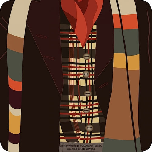 Doctor Who Scarf 4th Dr
