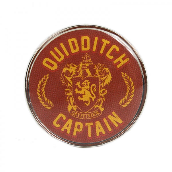 Harry Potter Enamel Badge-Quidditch Captain