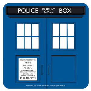 Doctor Who Coaster-Tardis