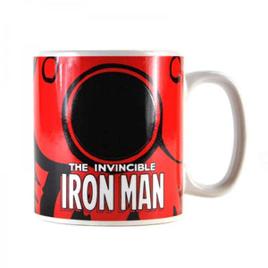Marvel Iron Man Heat Changing Mug - Krazy Gifts
