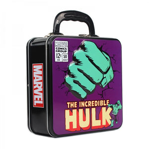Marvel Embossed Tin Tote- Hulk