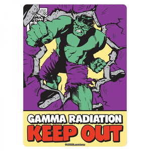 Marvel Hulk Tin Sign - Krazy Gifts