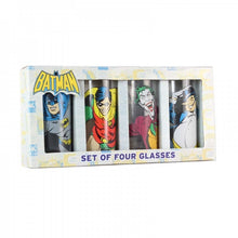 Batman Glasses (Set of 4) Characters