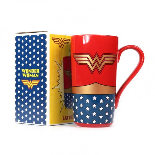 Wonder Woman Latte Mug