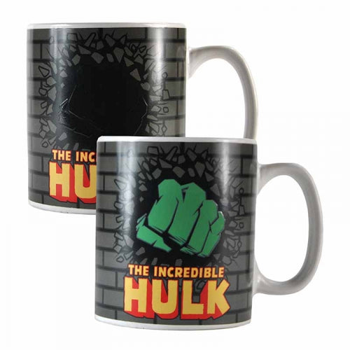 Marvel Hulk Heat Changing Mug - Krazy Gifts