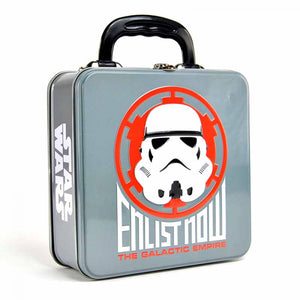 Star Wars Embossed Tin Tote-Stormtrooper Badge