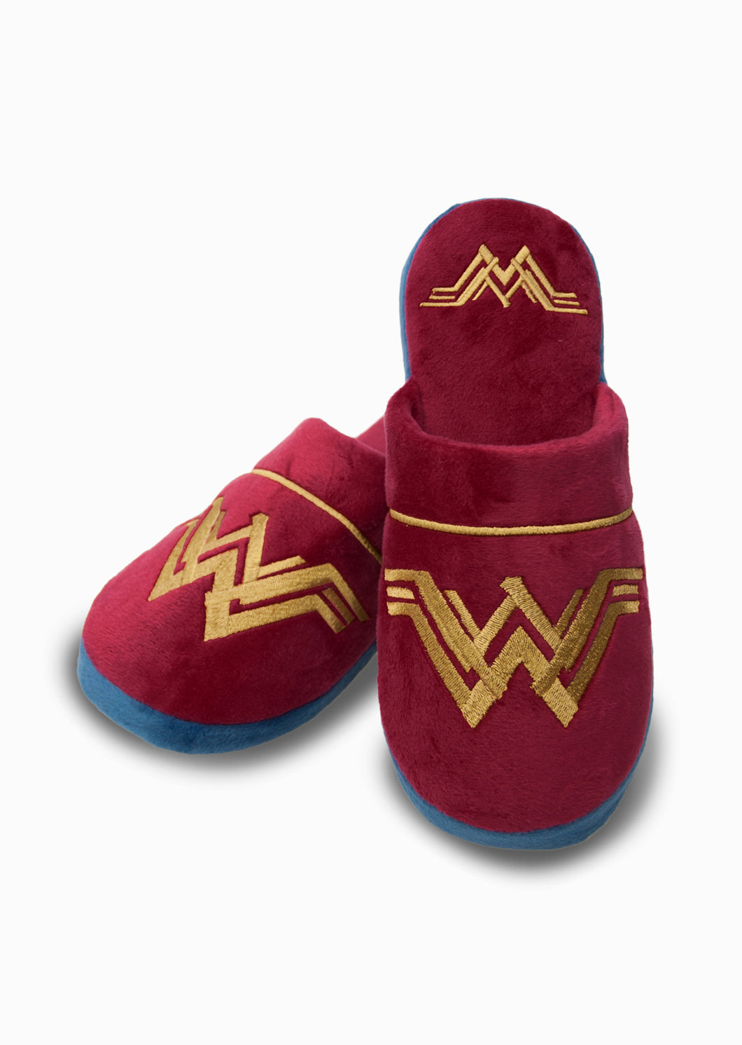 DC Comics Wonder Woman Adult Mule Slippers