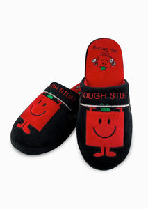 Mr Men & Little Miss – Mr Strong Adult Mule Slippers