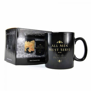 Game of Thrones Heat Changing Mug-Westeros Map