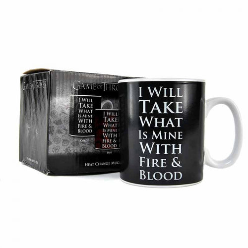 Game of Thrones Heat Changing Mug-Daenerys Targaryen