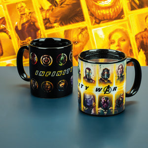 Marvel Infinity War Heat Change Mug