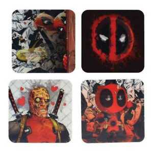 Deadpool Lenticular Coasters