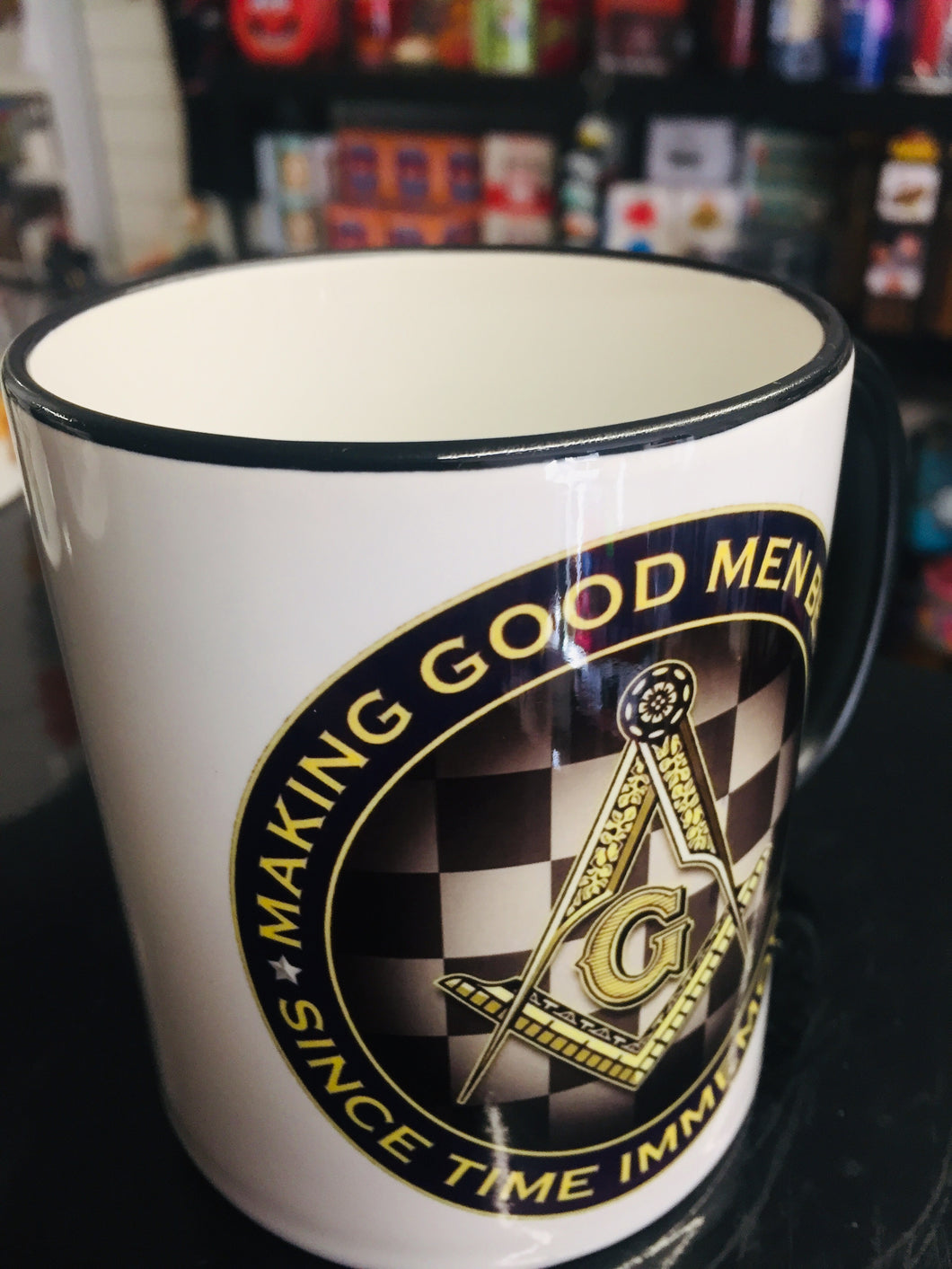 Masonic Coffee Mug (Design 1)