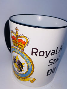RAF Station Digby Coffee/Travel mugs