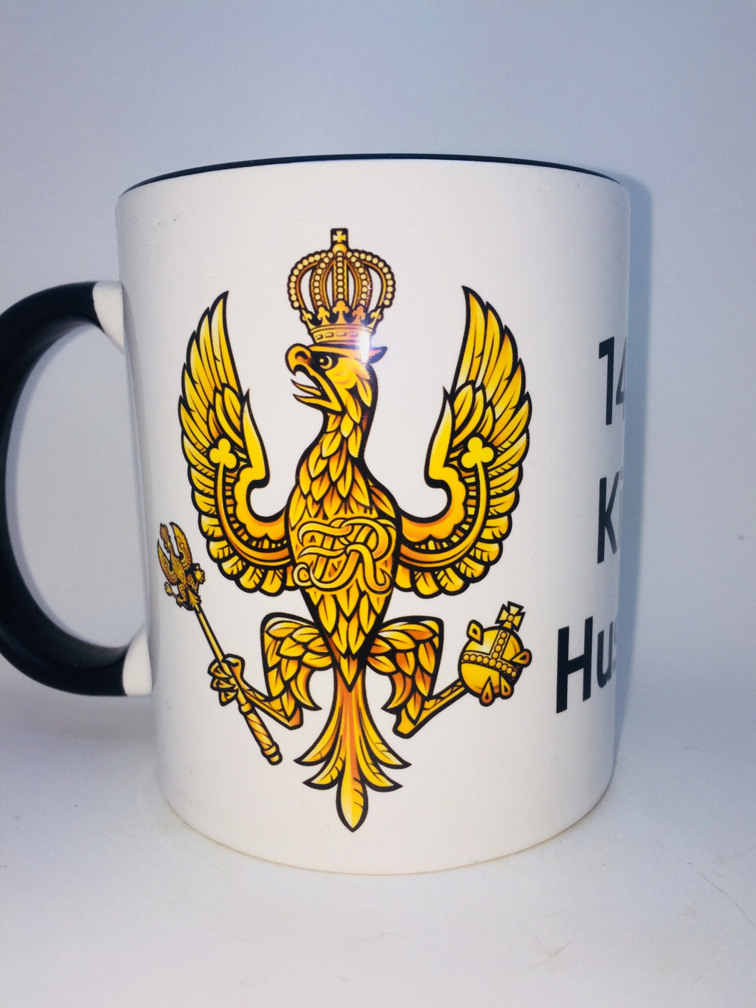 14th/20th KINGS HUSSARS COFFEE/TRAVEL MUG