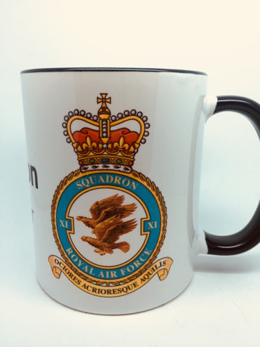11 (XI) Squadron RAF Coffee/Travel Mugs