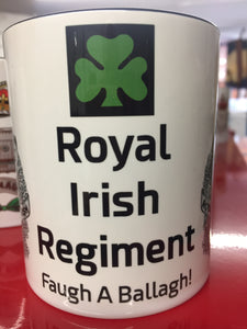 Royal Irish Regiment Travel/Coffee Mug