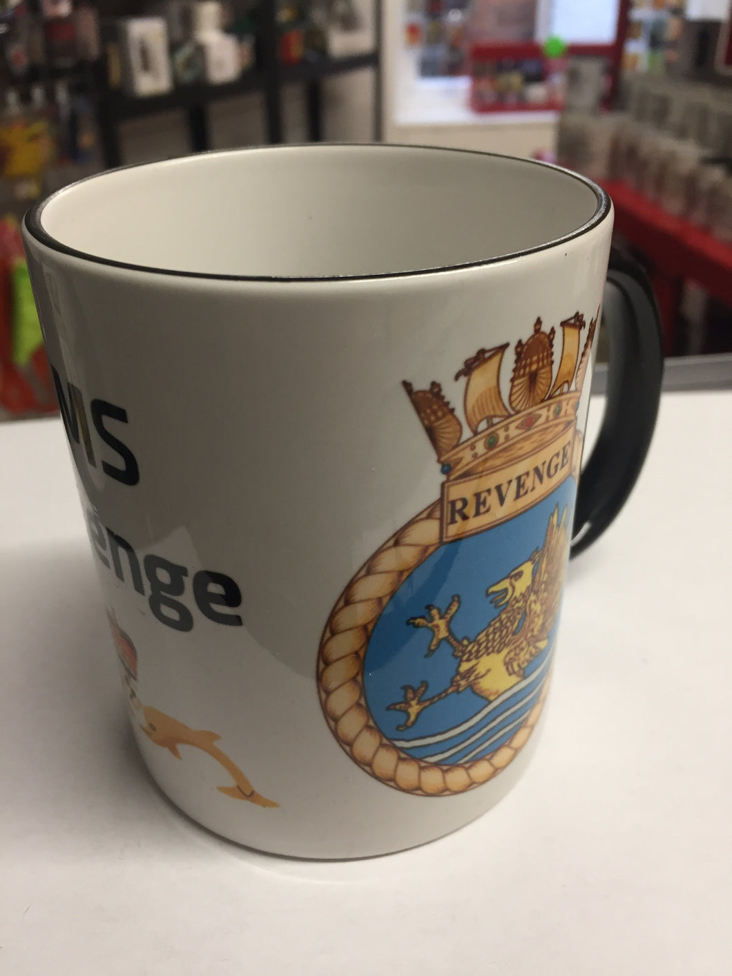 HMS Revenge Coffee/Travel Mugs