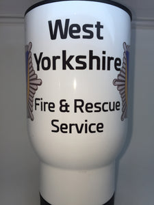 West Yorkshire Fire and Rescue Coffee/Travel Mugs