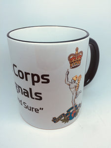 Royal Corps of Signals Coffee/Travel Mugs