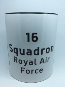 16 Squadron RAF Coffee/Travel Mug