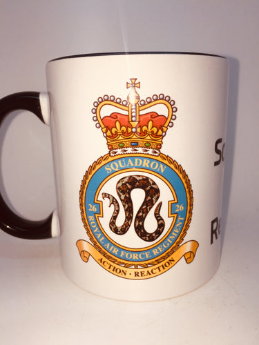 26 Squadron RAF Reg Coffee/Travel Mug