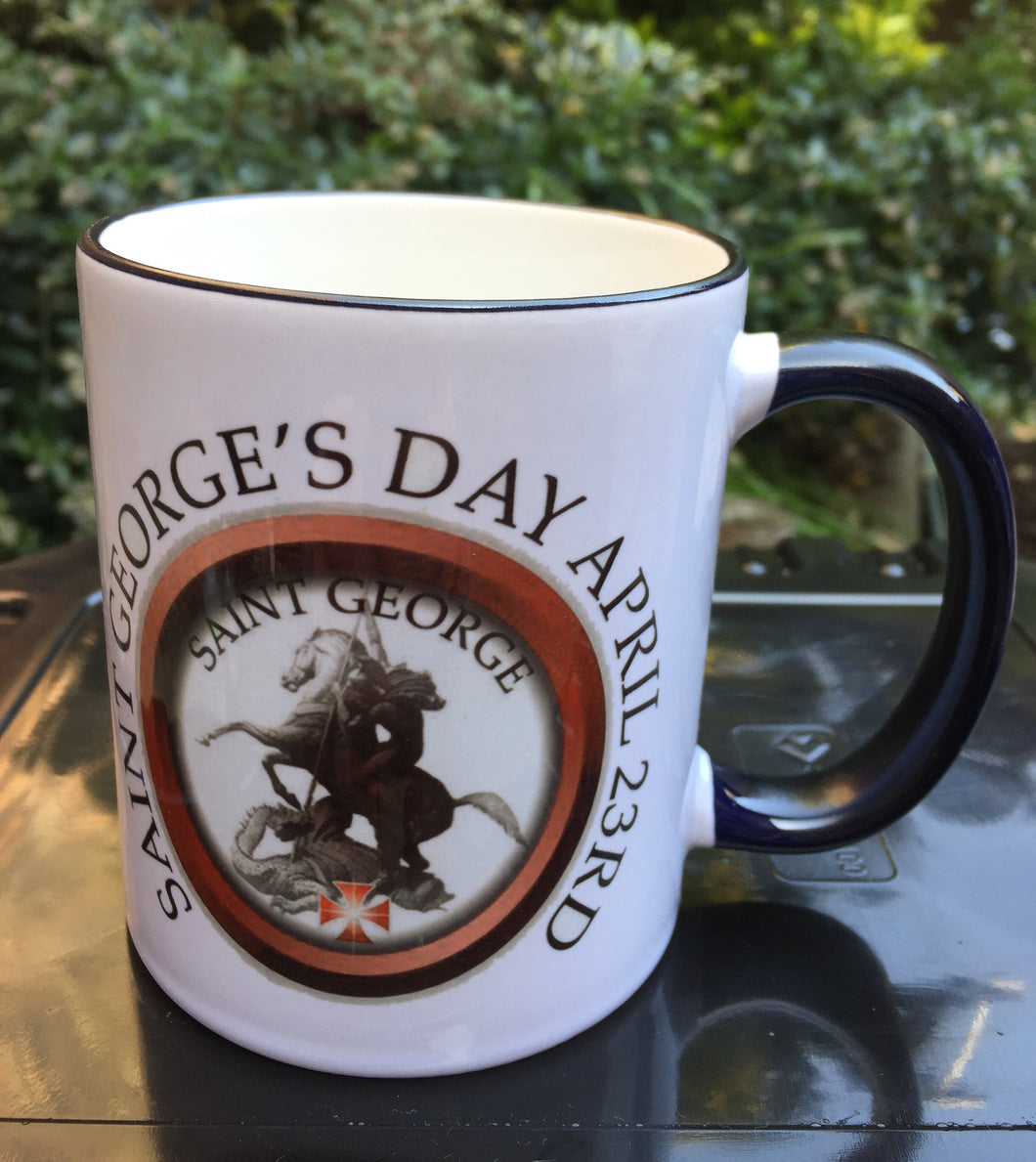 Saint Georges Day Mug 23rd of April